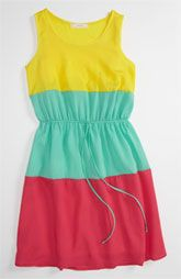 Soprano Colorblock Dress (Little Girls & Big Girls)