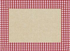 """Cogir - Sets de table papier décor """"Lin Vichy"""""""