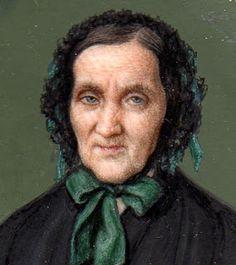 LUÍS VERMELL Y BUSQUETS (1814-1890) Dama anciana 1858 Colección Martínez Lanzas.