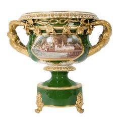 BLOOR DERBY (worked c.1825-1848) A rare and important Bloor Derby porcelain Warwick vase  c. 1830 Englan