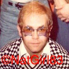 Elton John in 1975, handsome♡