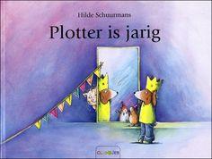 Plotter is jarig - Hilde Schuurmans - thema: verjaren