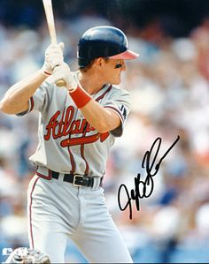 Atlanta Braves Jeff Blauser Autographed Signed 8x10 Photo