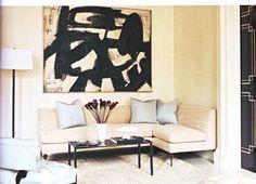 Beautiful Rooms Franz Kline art