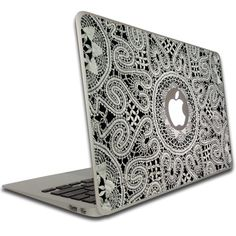 Macbook Air or Macbook Pro (13 inch) Vinyl, Removable Skin - Lace : Decorative Laptop Skin Decals : Computers & Accessories