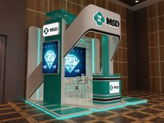 MSD EGY on Behance Exhibition Stall Design, Exhibition Display, Exhibition Stands, Exhibition Room, Exhibit Design, Stand Design, Display Design, Stand Feria, Expo Stand