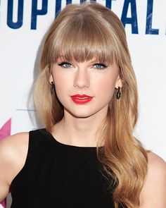 The Red Lip: An American Classic -  Taylor Swift