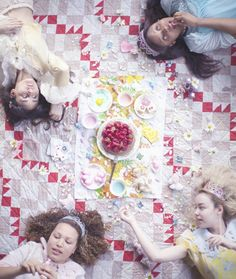 The Royal Party - The girls with the most cake. Olivia Bee, Royal Party, Out Of Touch, Teenage Dream, Girl Gang, Cute Fashion, Afternoon Tea, Food Art, Cool Kids