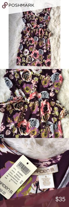"Arden B floral peplum dress NWT size S Beautiful floral pattern peplum dress by Arden B. Brand new with tags. Size small. Features scoop neck design in front & back. Ruffle peplum detail accentuates the waist. Straight pencil skirt bottom. Last pic is a fashion blogger wearing the same dress!   Measurements: Bust 16"" Length (shoulder to hem) 23""  Please check out my other items! Bundle & save! 🛍🛍 Arden B Dresses"