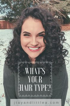 What's Your Hair Type? #tiptuesday #haircare #curlyhair