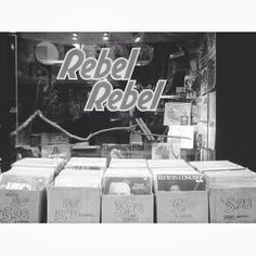 Rebel Rebel Record Shop, New York City