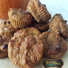 Muffin calabaza, zapallo o auyama #halloweenrecipes #recetahalloween #pumpkin #eatclean