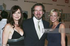 Caitlin McDougall, Erik Thomson and Jessica Napier and arrive at the 47th Annual TV Week Logie Awards at the Crown Entertainment Complex on May 1, 2005 in Melbourne, Australia.