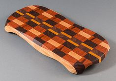 Hand Sculpted End-Grain Cutting Board / Bread by DougEDesignLLC