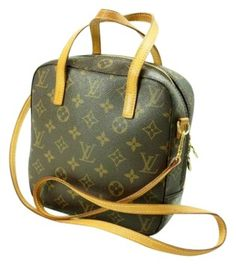 Louis Vuitton Auth Spontini 2-way Hand W/ Strap 2-way! Shoulder Bag $641