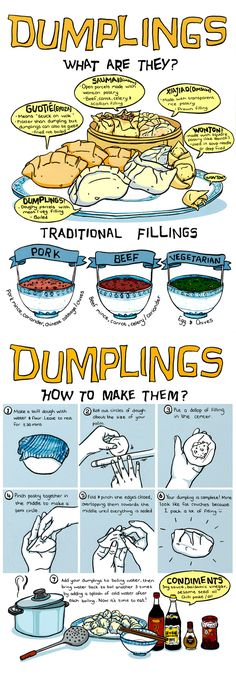 Dumplings What Are They?  Sauceome Guest Comic By Rowa Zheng