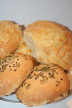 Hamburger, Brunch, Bread, Recipes, Food, Brot, Essen, Baking, Eten