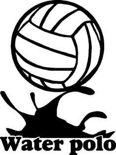 water polo images clip art - Google Search Waterpolo, Sports Coloring Pages, Swimming Party Ideas, Logo Clipart, Polo Team, Sports Decals, Swim Team, Water Sports, Art Google