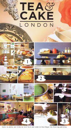 2clics: tea in London (adresses)