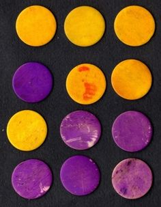 purple and yellow  Yummy inspiration for www.smartcreativestyle.com