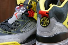 5f4a2d921a5c The Black Grey-Yellow Air Jordan Spiz ike are set to be released March 2  2013