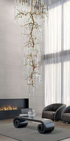 Chandelier, Light, Lighting Design and Ideas Large Chandeliers, Modern Chandelier, Luxury Chandelier, Chandelier Lighting, Designer Chandeliers, Branch Chandelier, Handmade Chandelier, Bubble Chandelier, Chandelier Ideas