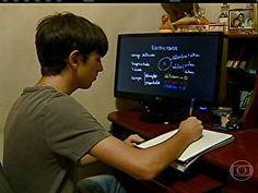 Jornal da Globo - Brasil é o quarto país que mais acessa plataformas de ensino online