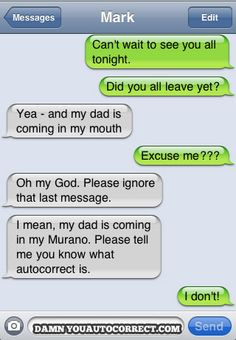 Family Gathering from Damn You Autocorrect!