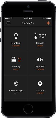 Savant Systems new Savant App for professional home automation.