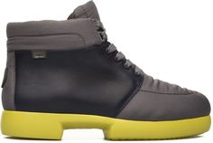 FISS grey yellow winter boots (K300023-002) by Camper