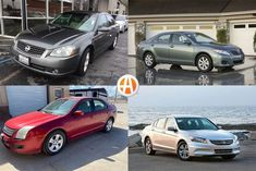 Often the go-to option for families before SUVs took over, midsize sedans offer efficiency, comfort and space. Here are six of our favorite used family sedans available for under $5,000. 2012 Accord, Toyota Camry For Sale, Honda Accord For Sale, Subaru Legacy, Mazda 6, Ford Fusion, Sedans, Nissan Altima, Price Point