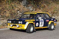 "radracerblog: ""77′ Fiat 131 Mirafiori Abarth "" Fiat Sport, Fiat Cars, Fiat Abarth, Top Cars, Rally Car, Car Photos, Race Cars, Classic Cars, Monster Trucks"