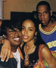 Missy Elliot, Jay Z,and Aaliyah