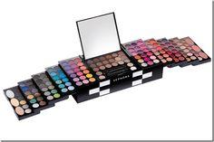 Palette di Make-up Color pop-up store Sephora Sephora Makeup Kit, Makeup Dupes, Makeup Case, Makeup Geek, Eyeshadow Makeup, Makeup Brushes, Kids Makeup, Love Makeup, Beauty Makeup