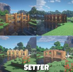 Minecraft Bridges, Minecraft Structures, Minecraft Plans, Minecraft City, Minecraft Construction, Minecraft Survival, Minecraft Tutorial, Minecraft Blueprints, Minecraft Buildings