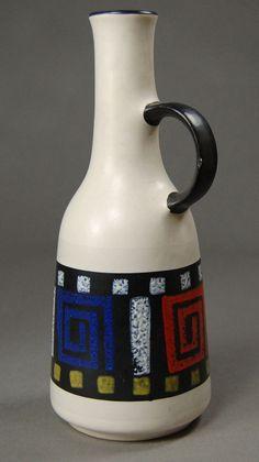 Dümler & Breiden, Krug - Hobbies paining body for kids and adult Vintage Vases, Vintage Ceramic, Retro Vintage, Ceramic Decor, Ceramic Pottery, Pop Art, Hobbies And Interests, Can Design, Decoration