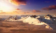Stunning Mountain Scenery of Swiss Alps photo