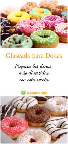 Donut Glaze, Pastry And Bakery, Cute Cakes, No Bake Desserts, Doughnut, Donuts, Icing, Deserts, Brunch