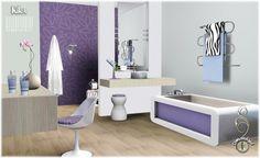 Kika bathroom set at Simcredible Design - Sims 3 Finds