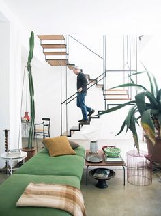 """""""In 2017 I think we will be drawn to interiors that are inspiring and uplifting,"""" Uurasjarvi says. """"Open and airy rooms with lighter color palettes, well-edited furnishings, and spaces where..."""