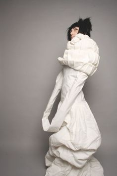 This is called the White Project. At the insane asylum it's called a straight jacket.