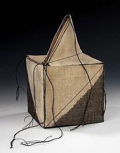 Ikat Box1996Kay Sekimachipainted and woven linen10 x 51/2 x 51/2 in. (25.4 x 14.0 x 14.0cm)Smithsonian American Art Museum...
