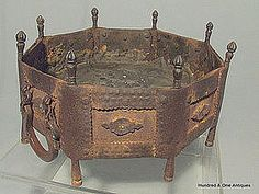 Antique Persian Safavid Islamic Brazier, 16th -17th Cen. Thanks to Dr. Sutt, I know the history surrounding this dynasty.