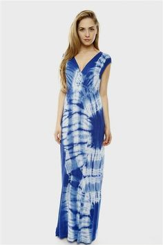 fbd9211e85f9 Nice tie dye maxi dress 2018-2019 Check more at http   myclothestrend