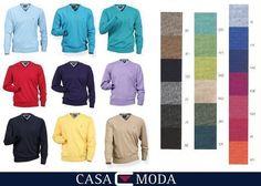 +Casa Moda V-Pullover 004130 L-6XL 18 Farben