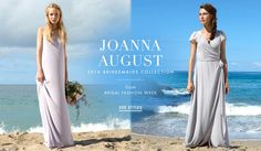 Joanna August 2016 Bridesmaids   Article: Boho-Chic Bridesmaid Style by Joanna August 2016   Photography: Courtesy of Joanna August   Read More:  http://www.insideweddings.com/news/fashion/boho-chic-bridesmaid-style-by-joanna-august-2016/2584/
