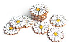 Daisy Cookies by #BakedIdeas