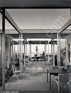 Case Study House # 23, CA. Architect: Edward Killingsworth