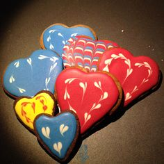 "Love love love"""""" icing cookies"