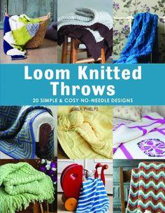 Loom Knitting For Beginners, Loom Knitting Projects, Loom Knitting Patterns, Loom Knitting Blanket, Loom Blanket, Knitting Looms, Loom Craft, Knifty Knitter, Peg Loom